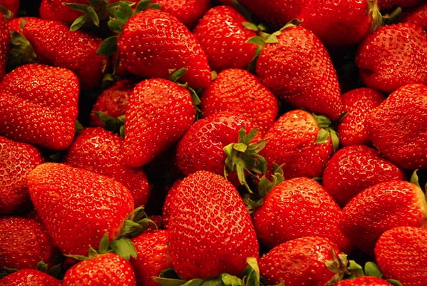 640px Strawberries at St Joseph Market in Barcelona