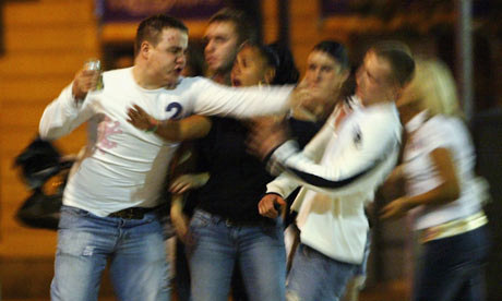 Alcohol fuelled violence 001