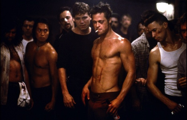 Brad Pitt fight club body2