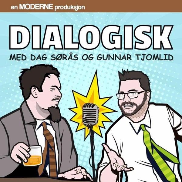 Dialogisk podcast med Dag Sørås og Gunnar Tjomlid