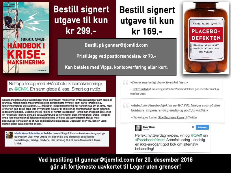 Kjøp bok i julegave og støtt Leger uten grenser!