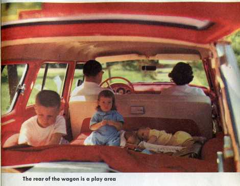 Baby in a station wagon1