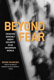Beyond fear - Bruce Schneier
