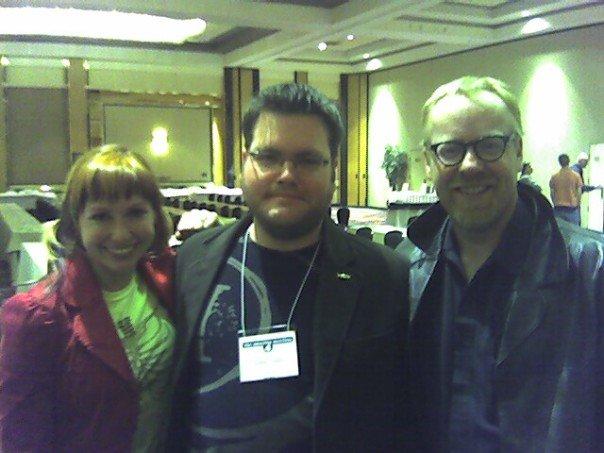 Kari Byron, Adam Savage og meg
