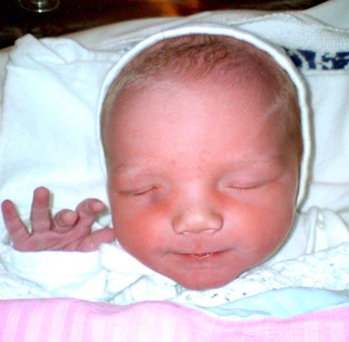 Maya nyfødt